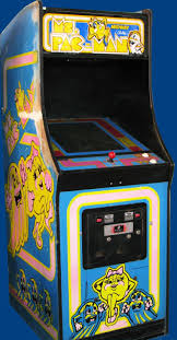 Galaga Arcade Cabinet Nerdly Pleasures Remnant Of The Golden Age Of Arcades Ms Pac