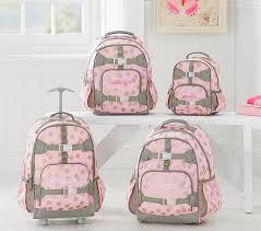 Pottery Barn Mackenzie Backpack Review Mackenzie Pink Glitter Dot Backpack Pottery Barn Kids