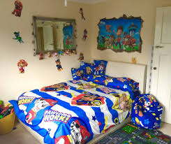 toddler paw patrol theme room u2013 from single bed to double baby