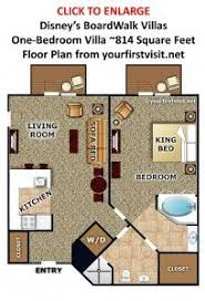 disney bay lake tower floor plan bay lake tower at disney s contemporary resort 1 bedroom villa