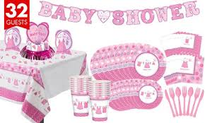 baby girl baby shower it s a girl baby shower party supplies party city
