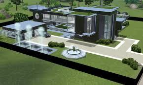 modern house design the sims 3 u2013 modern house