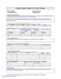 weekly progress report template project management preschool weekly report template awesome new monthly status report