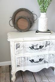 Black Nightstand With Drawers Black And White French Nightstand Canary Street Crafts