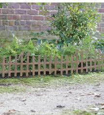 decorative garden fencing metal margarite gardens