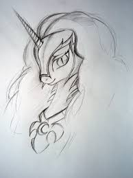 drawn my little pony pencil drawing pencil and in color drawn my