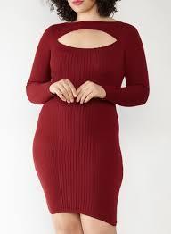 maroon sweater dress plus size keyhole neck sweater dress rainbow