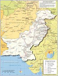 India Map With States by Political Map Of Pakistan Nations Online Project