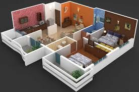 best 2 bhk home design remarkable 3d house interior design contemporary best