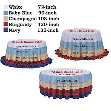 108 tablecloth on 60 table amazon com soardream 108 inch round chagne blush sequin