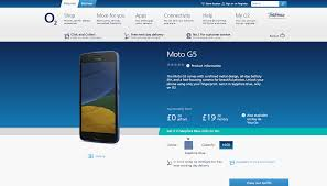 the sapphire blue moto g5 in the uk is exclusive to o2