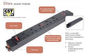 Office Desk Power Sockets Elite Desk Power Modules Genesys Office Furniture