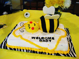interior design bumble bee themed baby shower decorations