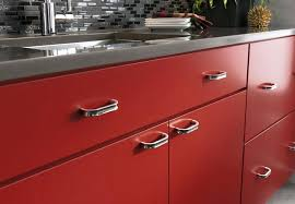 Glass Kitchen Cabinet Hardware Red Oak Kitchen Traditional Kitchen Milwaukee By A Fillinger Red
