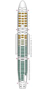 a340 seat map a340 300 sas seat maps reviews seatplans com