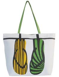 flip flop bag bags and totes boardwalk style