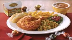menu with prices swiss chalet