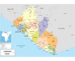 Ivory Coast Map Maps Of Liberia Detailed Map Of Liberia In English Tourist Map