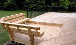 Wood Bench Designs Plans 28 Best Building A Deck Bench Building Plans Online 88430