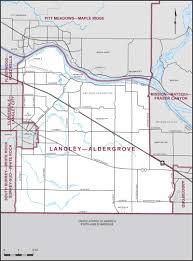 British Columbia Canada Map by Langley U2013aldergrove Maps Corner Elections Canada Online