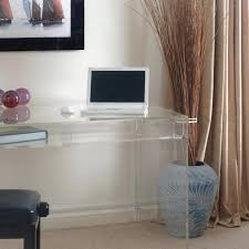 furniture charming clear acrylic side table design modern