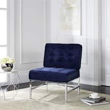 Blue Accent Chairs For Living Room by Fox6268b Accent Chairs Furniture By Safavieh