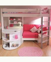 sofa fã r kinderzimmer hochbett halbe unterhalb deko hochbetten