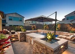 california smartscapedel sur modern paver pool deck with sunken