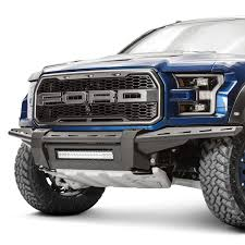 Ford Raptor Bumpers - fab fours ford f 150 raptor 2017 aero series full width front
