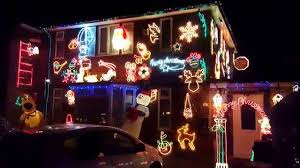 House Christmas Lights by Amazing House Christmas Lights Decorations Cover House 4k