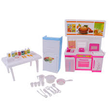 Dollhouse Kitchen Furniture by Online Get Cheap Barbie Kitchen Furniture Aliexpress Com