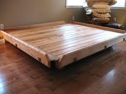 Bed Frame Joints Platform Bed Michael Hoy Woodworking