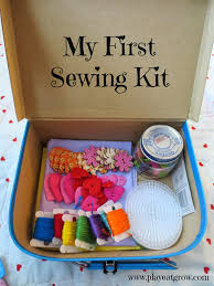 play eat grow diy first sewing kit great gift idea for the