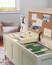 Office In A Shed Office Organization Ideas For Disaster Zone Desks Martha Stewart