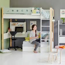 hochbett mit schreibtisch und sofa flexa hochbett white casa mit sofabett und hängeschreibtisch
