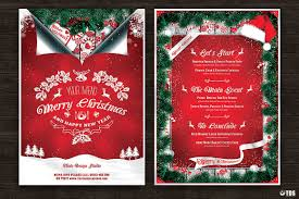 Credit Card Wedding Invitations 7 Xmas Menus 7 Invitations Bundle That U0027s Design Store