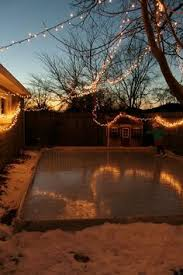 Backyard Ice Skating by Bright White Ice Rink Liners For Diy Backyard Ice Skating Rinks