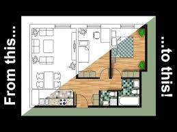 how to render an autocad floor plan with photoshop youtube