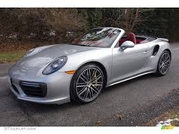 miami blue porsche turbo s 2017 gt silver metallic porsche 911 turbo s cabriolet 118434652