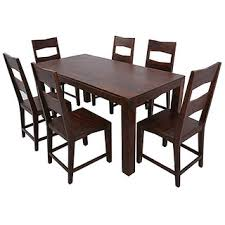 6 seater dining table and chairs zora solid wood 6 seater dining table set buy zora solid wood 6