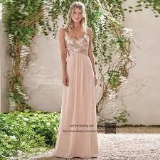 aliexpress com buy robe de fille d u0027honneur sequin peach