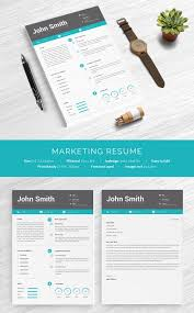 Free Marketing Resume Templates 41 One Page Resume Templates Free Sles Exles Formats