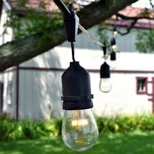 Commercial Led Light Strings by Led Suspended Vintage String Lights
