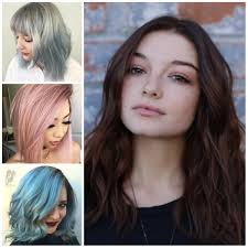 medium length hairstyles striking medium length hairstyles for round faces 2017 haircuts