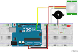 arduino motion sensor detector using pir sensor complete project