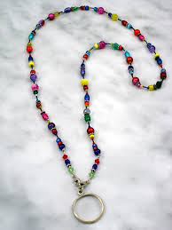 colored necklace chains images Multi colored eye glass chain jewelry by ellen jpg