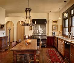 dishy rustic wood dining with white trim double glass doors table