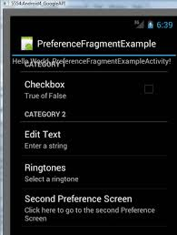 android preferences cs4521