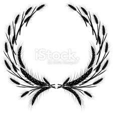 wheat wreath template printable google search 4 h pinterest