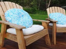 Patio Seat Cushions Round Back Patio Chair Cushions Outdoorlivingdecor